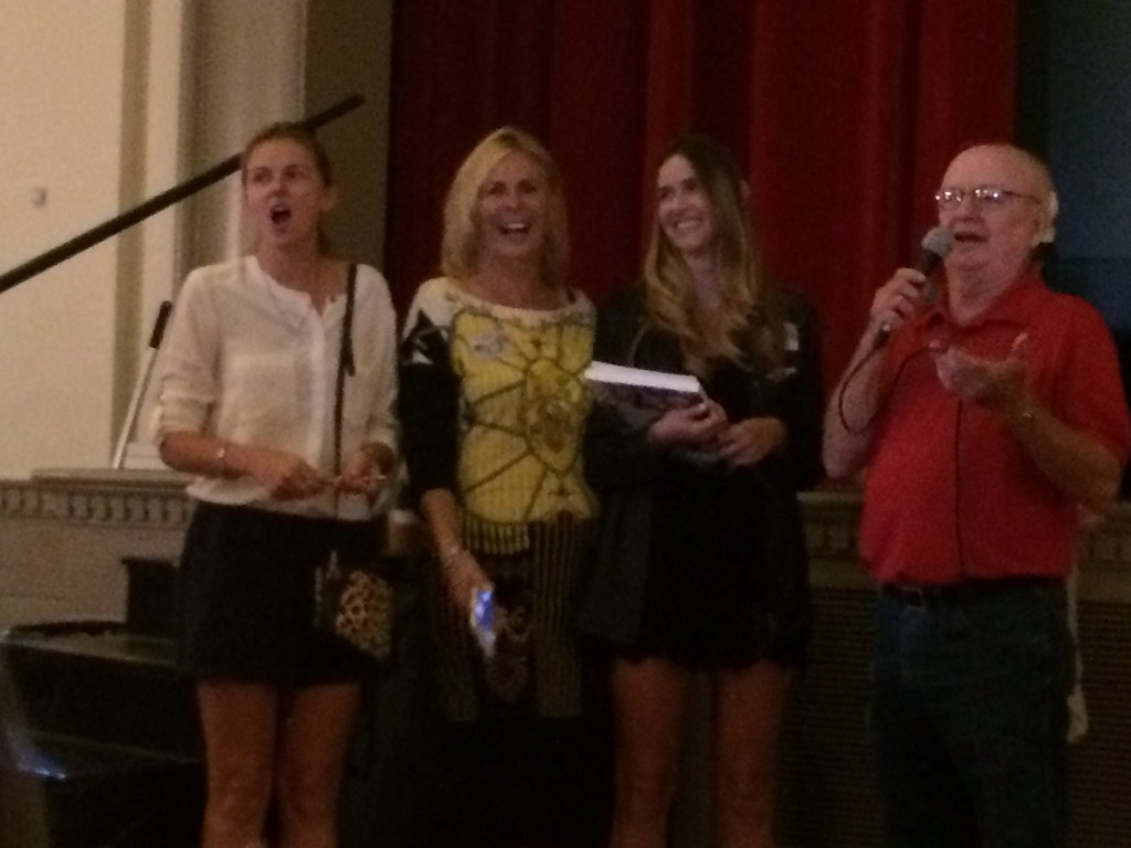 Linda and the Girls Singing Not Sure WHat