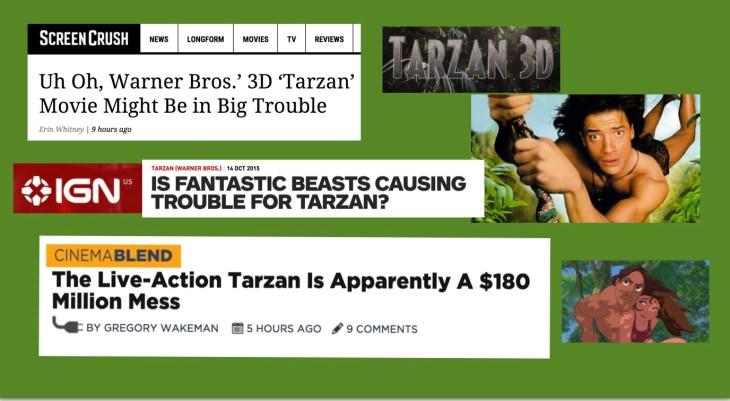 Tarzan in Trouble
