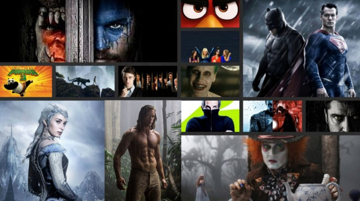 Movies to Watch 2016