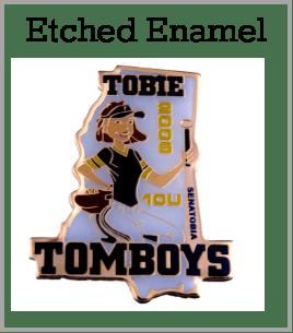etched-enamel custom pins