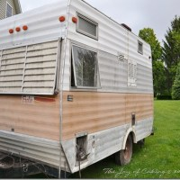 My Vintage Travel Trailer; The Beginning