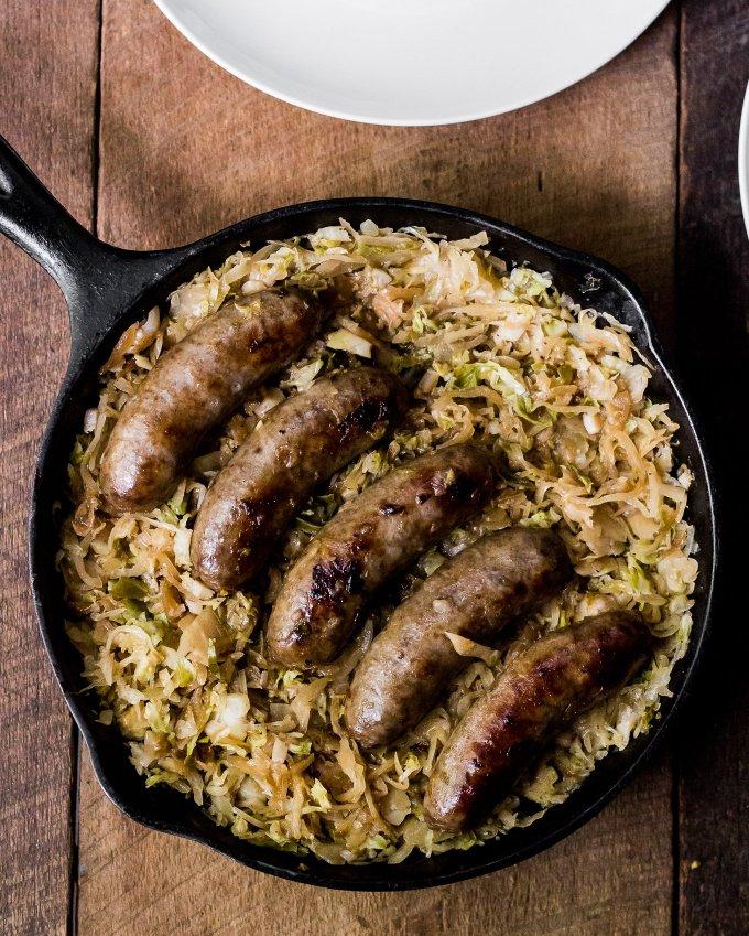 johnsonville brats, sausage family, beer brats, sauerkraut, mens cooking blog