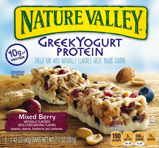 greek yogurt protein bars