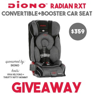 Diono Radian RXT Car Seat Giveaway