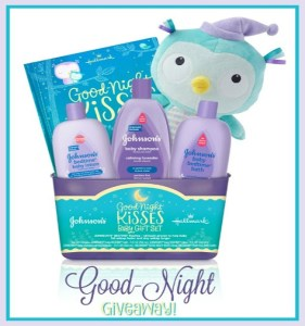 Good Night Kisses Baby Gift Set From Hallmark + A Giveaway!
