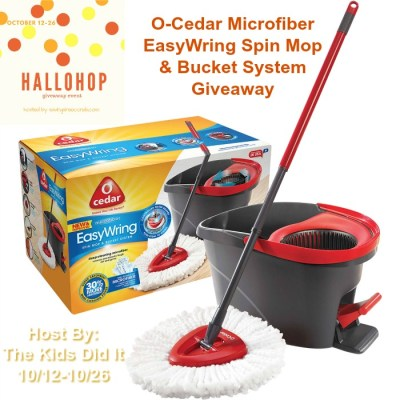 O-Cedar Mop Makes It Easy For The Kids To Clean!