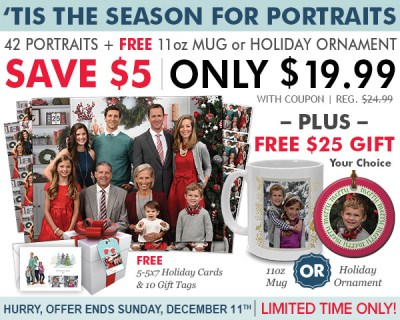 Have A Great Experience Taking Holiday Photo Cards At Portrait Innovations