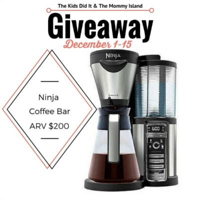 Start Your Day Out With A Nice Cup Of Joe! Ninja Coffee Bar with Glass Carafe Giveaway