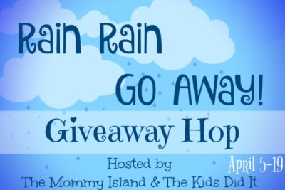 2nd Annual Rain Rain Go Away! Giveaway Hop – 2nd Biggest of Year!