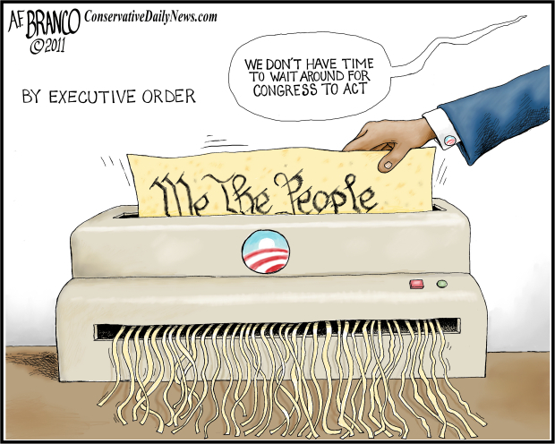 executive orders, obama cartoons | The Kitchen Cabinet.US