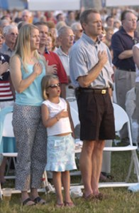 patriotism family pledging