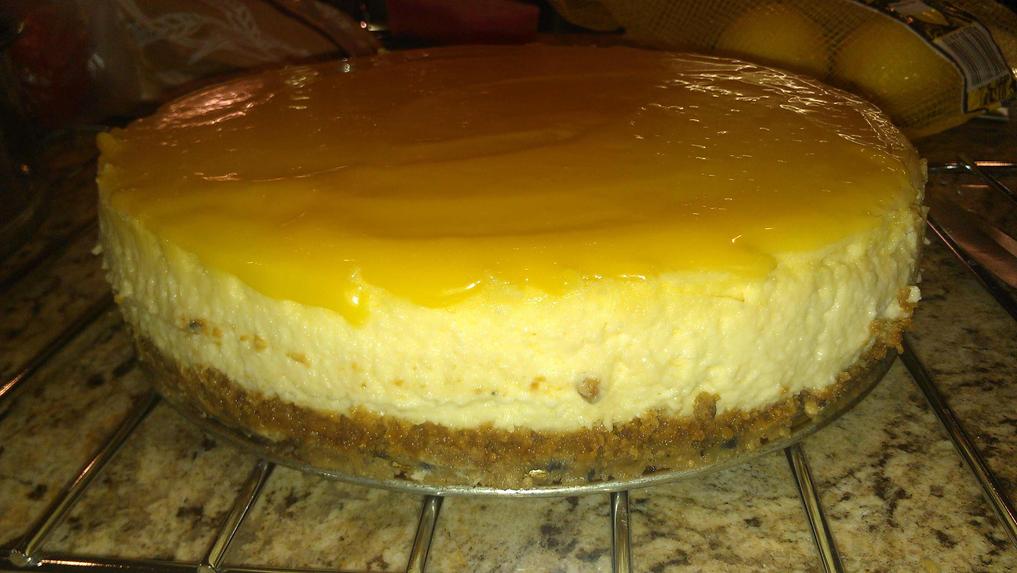 Goat Cheese-Lemon Cheesecake Recipe — Dishmaps