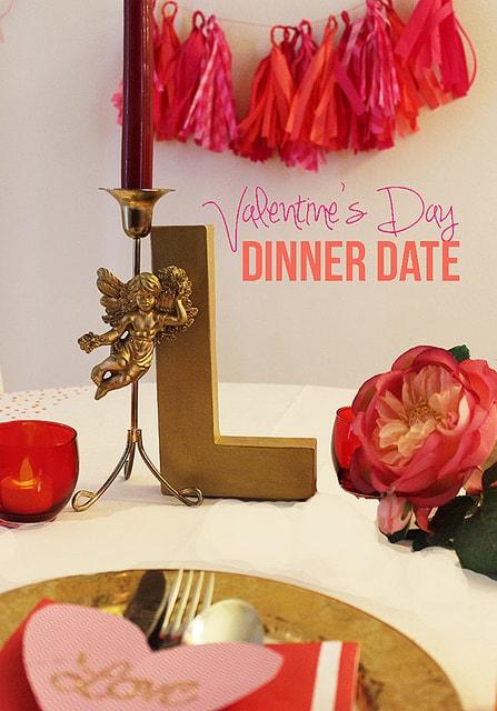 valentines day dinner date