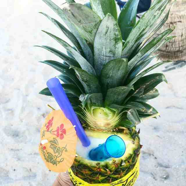 Now THATS what Im talking about! pineapple pinacolada beachside boardwalkhellip
