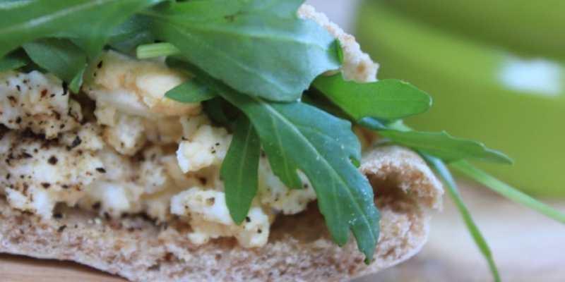 The Kitchen Shed - Clean Eating Egg Salad