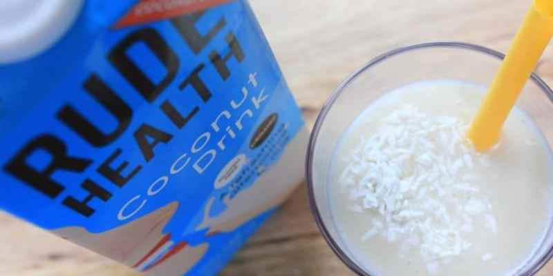 Clean Eating Coconut Pineapple Smoothie