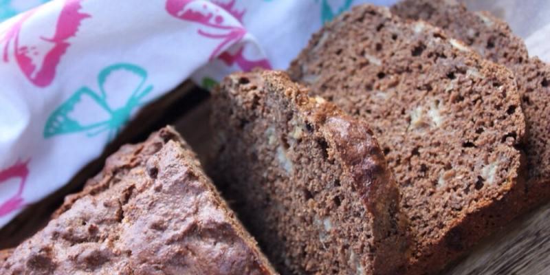 Clean Eating Chocolate Banana Bread