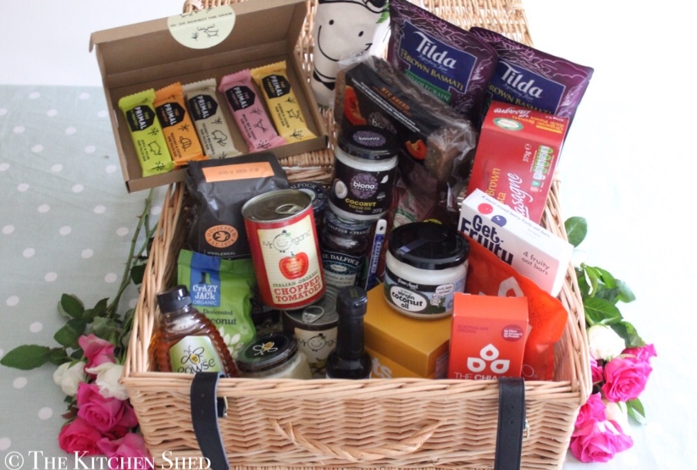The Kitchen Shed Clean Eating Hamper Giveaway
