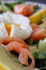 Clean Eating Salmon, Egg & Green Bean Salad
