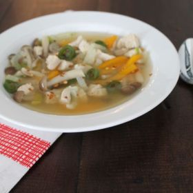 Spicy Asian Chicken Soup