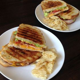 Southwestern Grilled Cheese with Roasted Tomatoes