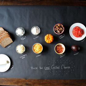 Build Your Own Grilled Cheese Party