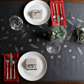 Succulent and Air Plant Thanksgiving Tablescape