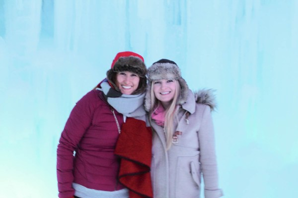 Ice Castle - Jill and Kit