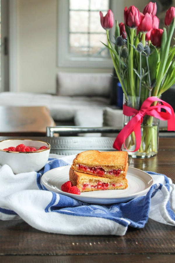 Raspberry Brie Grilled Cheese-5