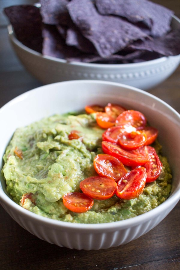 Roasted Tomato Guacamole