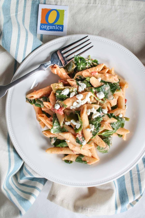 easy-goat-cheese-and-vegetable-pasta-6