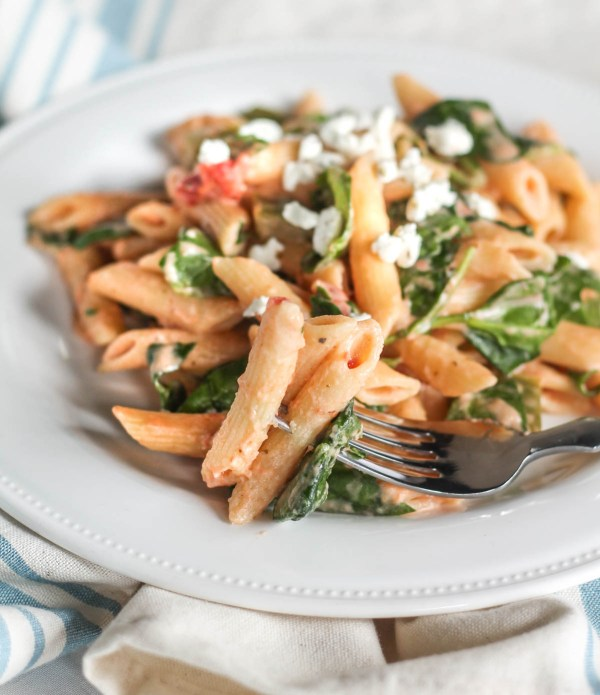 easy-goat-cheese-and-vegetable-pasta-8