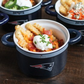 French Fry Bar with NFL Homegating
