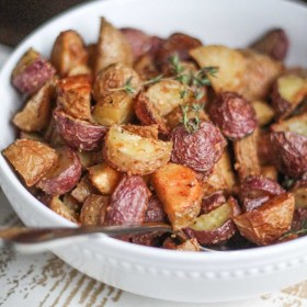 Crispy Parmesan Roasted Potatoes