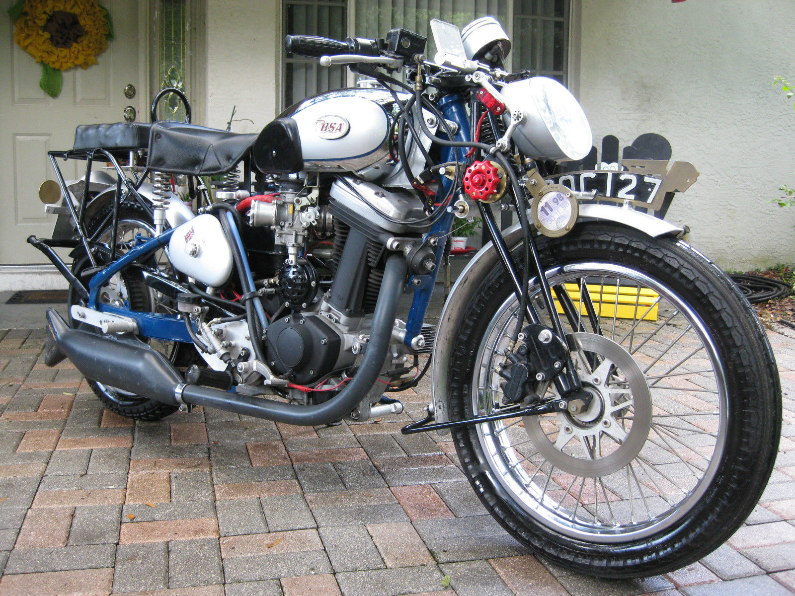 1938 BSA Buell by Doctor Robert Harms Now For Sale