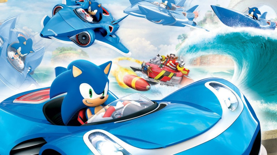 Want Mario Kart Wii U? Check Out Sonic & Sega All-Stars Racing: Transformed!