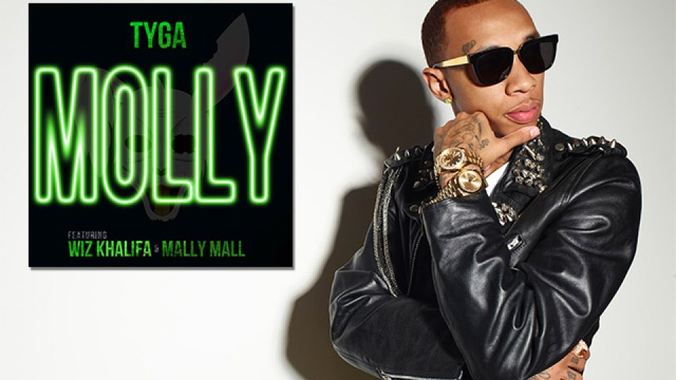 [Hip-Hop] Tyga – Molly ft Wiz Khalifa and Mally Mall