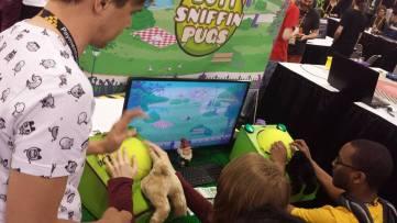 GDC 2015 Butt Sniffin Pugs
