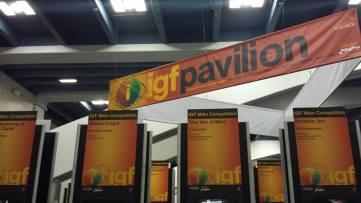 GDC 2015 IGF Pavilion
