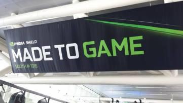 GDC 2015 Nvidia Sign