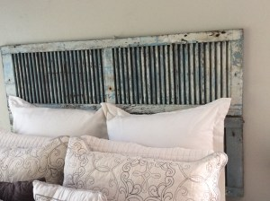 how to make a vintage shutter headpost