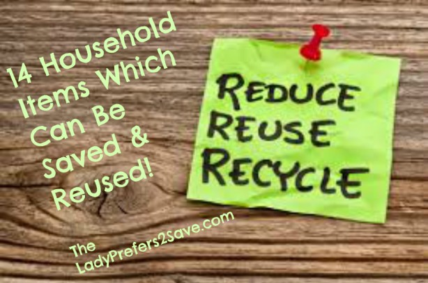 items to reuse