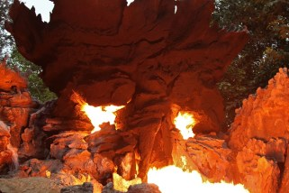 Jungle Cruise Fires at Hong Kong Disneyland