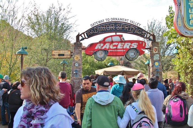 Radiator Spring Racers Entrance