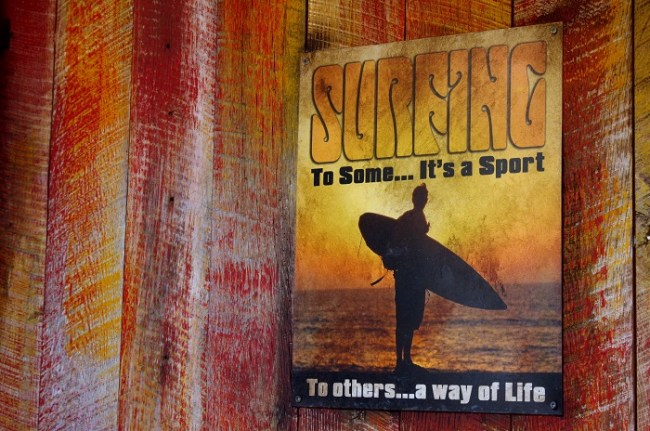 Aulani Surfing Poster
