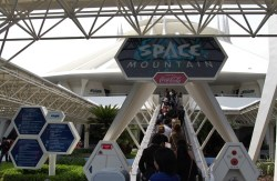 Space Mountain Entrance at Tokyo Disneyland