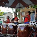 Japanese drummers perform at last year's Powell Street Festival. Photo courtesy of the Powell Street Festival