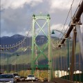 A view of the Lions Gate bridge. Photo by Miss Barabanov, Flickr