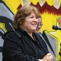 Dr. Aleida Guevara gives speeches around the world about her father&#039;s teachings.