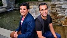 Kashif Pasta (left) and Shyam Valera (right). | Photo by Marianne Meadah, SFU